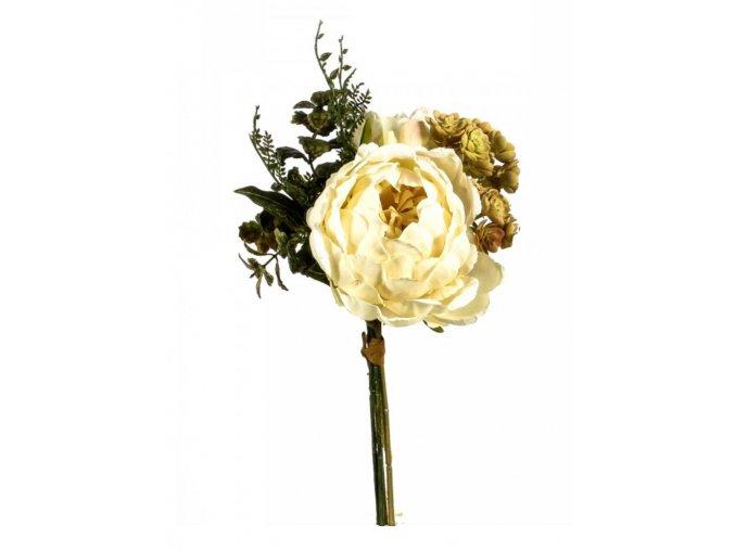 růže echevaria svazek bílá 72542.110