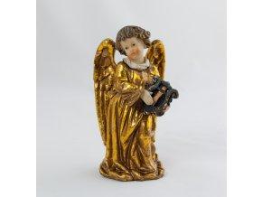 Zlatý anděl s lyrou