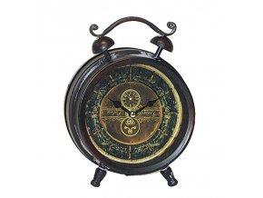Dutchstyle Clock desk vintage 21 cm 6677 280 pix1