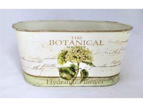 Dekorační nádoba hortenzie zelená