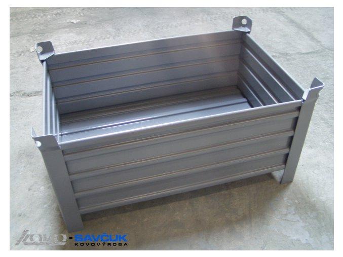 kovová ohradová paleta