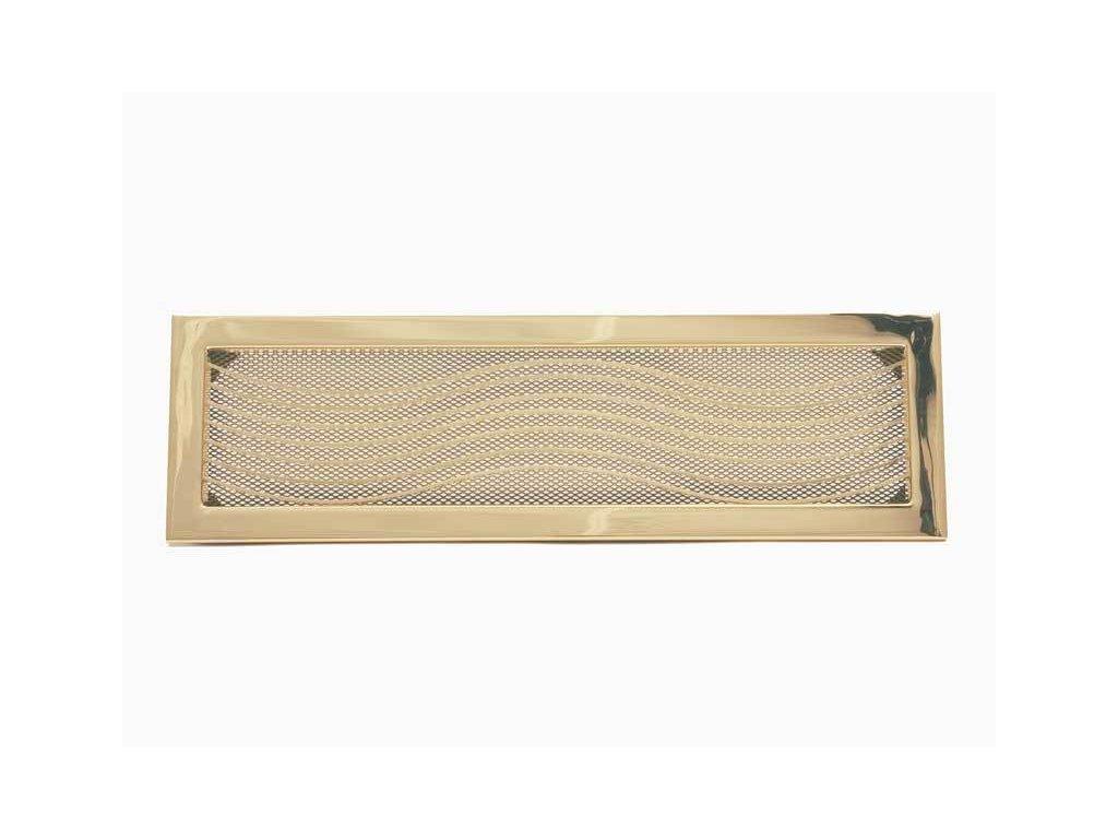 HARK Krbová mřížka HARK Klassik 15x46 cm, zlato, vyndavací