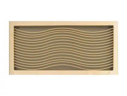 HARK Krbová mřížka HARK Klassik 23x46 cm, zlato, vyndavací