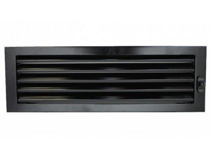 L mrizky `Lamelle` 15 x 46 cm cerna