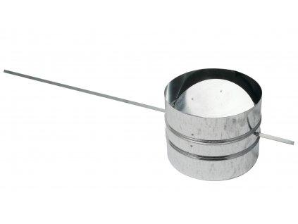 Krbova uzaviratelna klapka pro externi privod vzduchu 200
