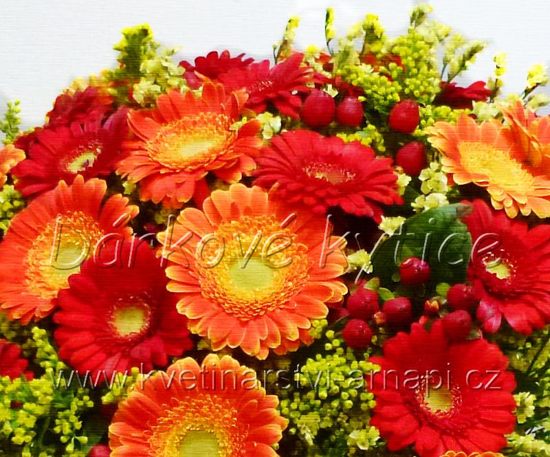 dárková kytice