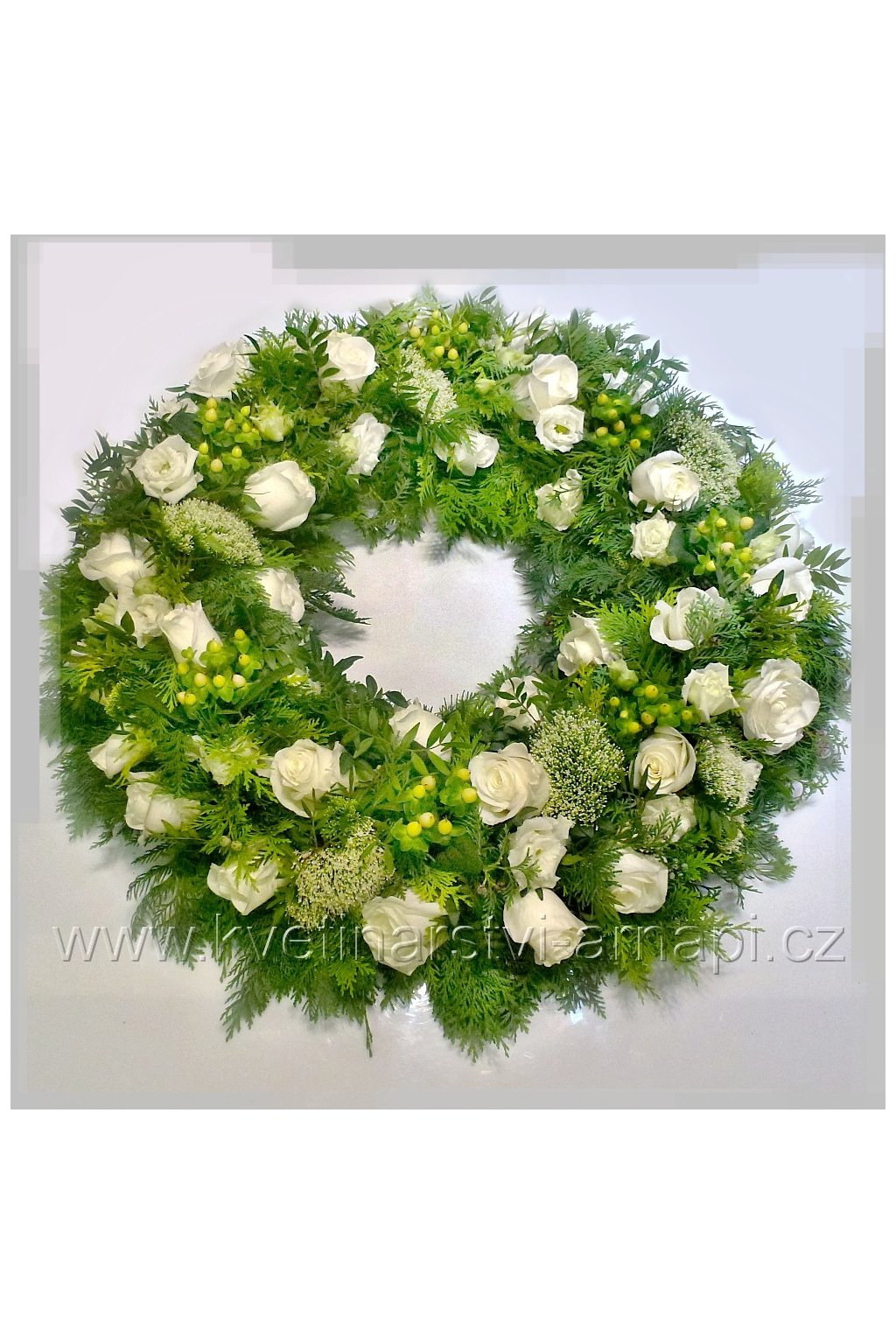 smutecni venec kvetinarstvi arnapi