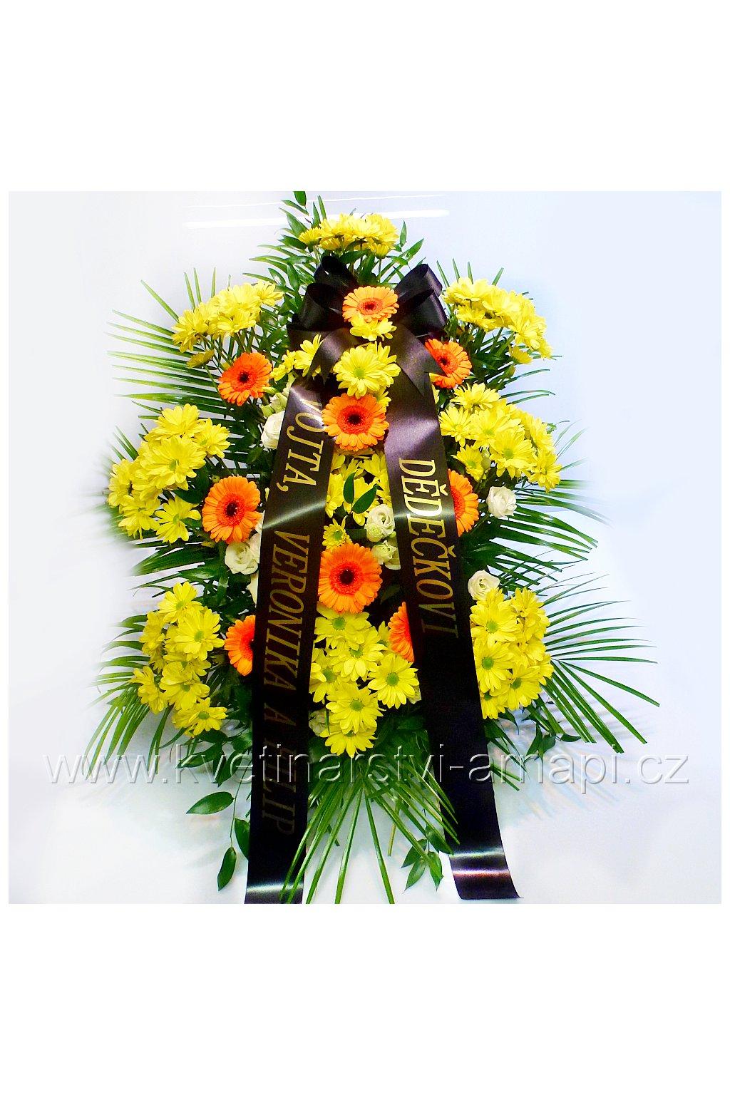 smutecni kytice gerbery kvetinarstvi arnapi