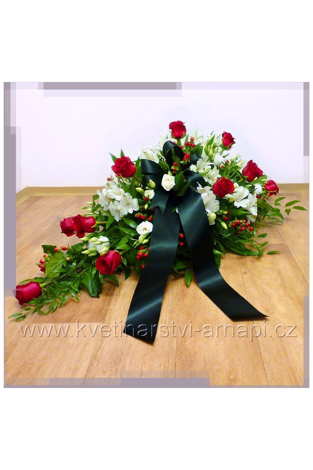 smutecni kytice kvetinarstvi arnapi ruze rozvoz