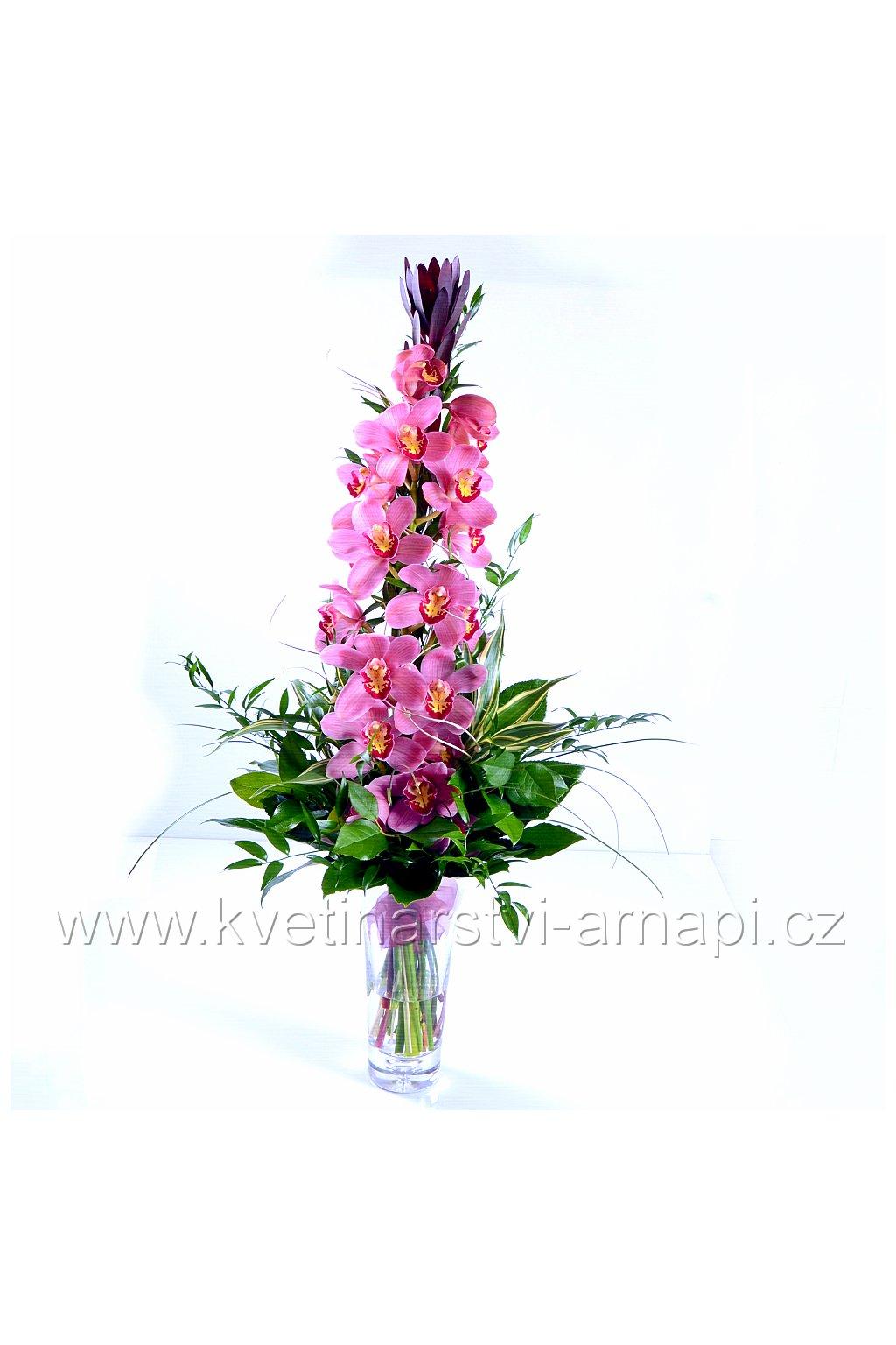 darkova kytice orchidej kvetinarstvi arnapi