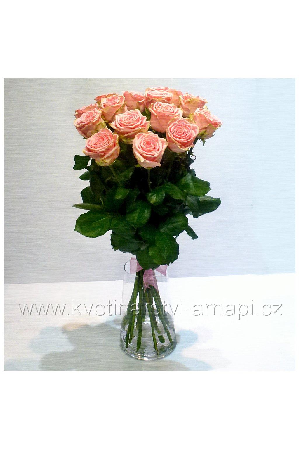 ruze ruzova kvetinarstvi arnapi