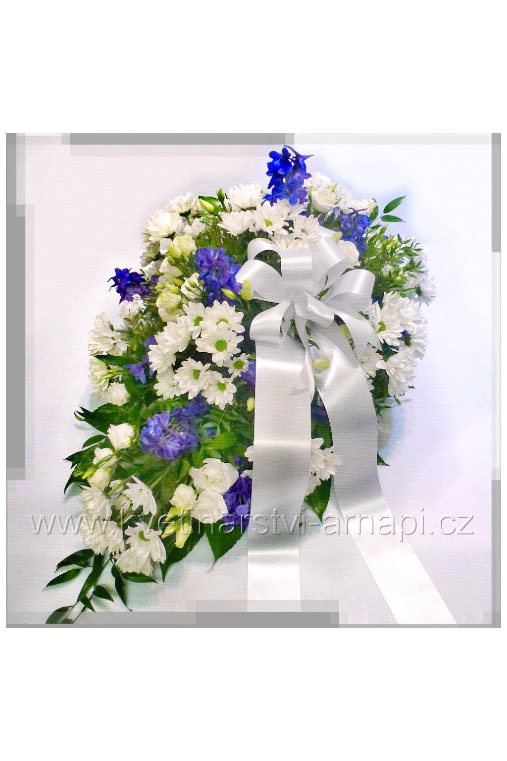smutecni kytice v drzaku kvetinarstvi arnapi