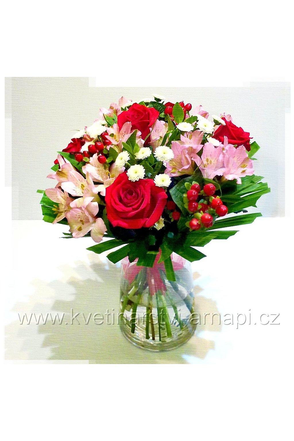 kytice ruze darkova prodej online kvetinarstvi arnapi