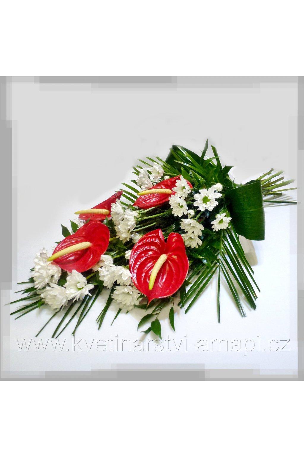 smutecni anthuria kvetiny rozvoz kvetinarstvi arnapi