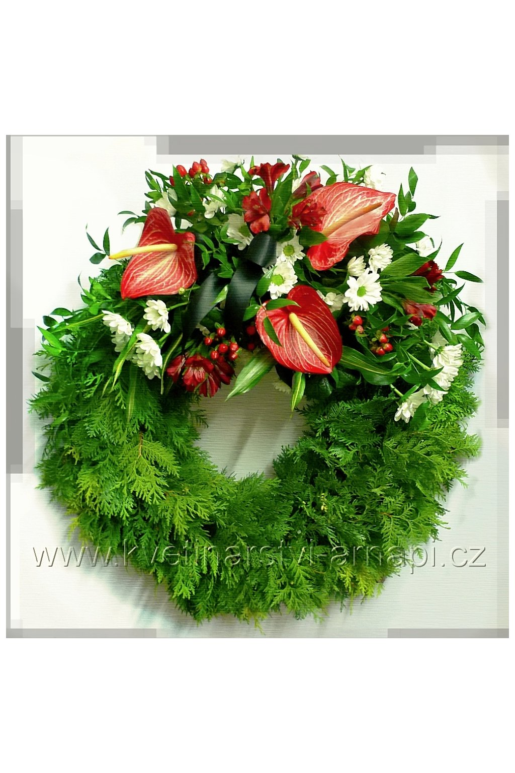 smutecni venec online rozvoz kvetinarstvi arnapi