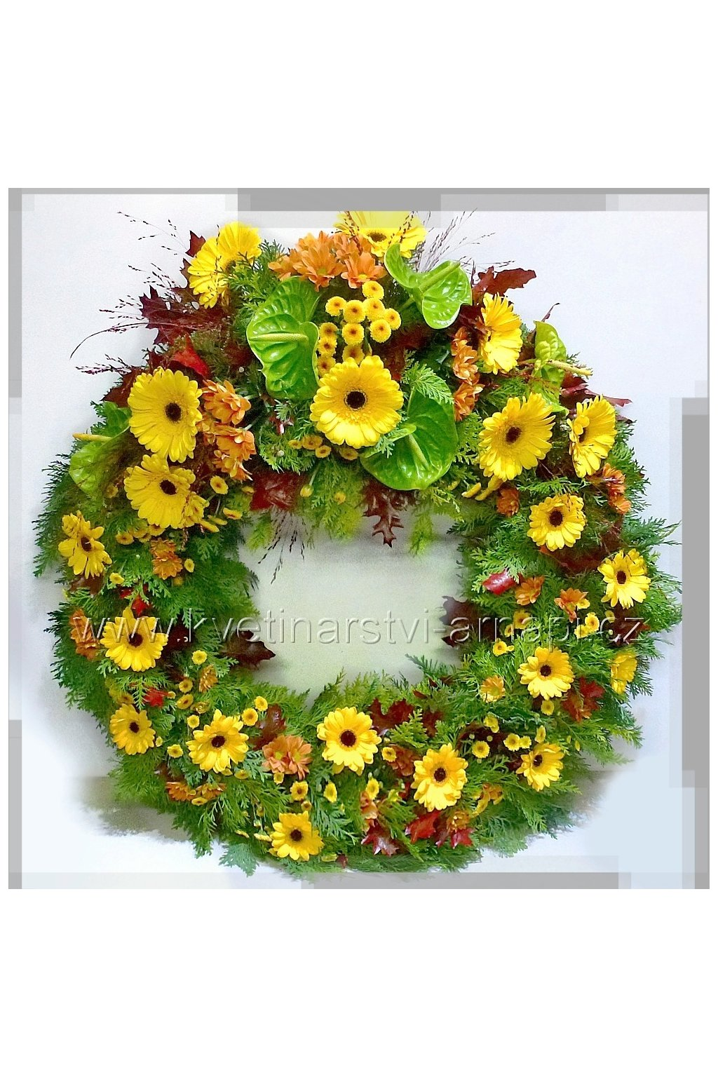 venec smutecni rozvoz kvetin kvetinarstvi arnapi