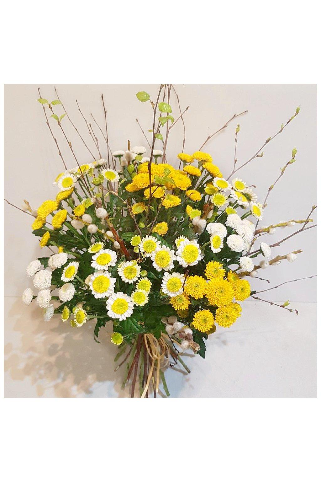kytice jarni santini kvetiny kvetinarstvi arnapi