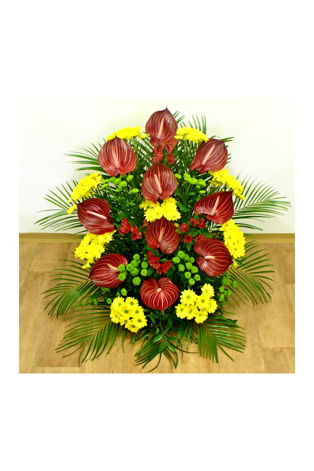 smutecni kytice anthuria kvetinarstvi arnapi
