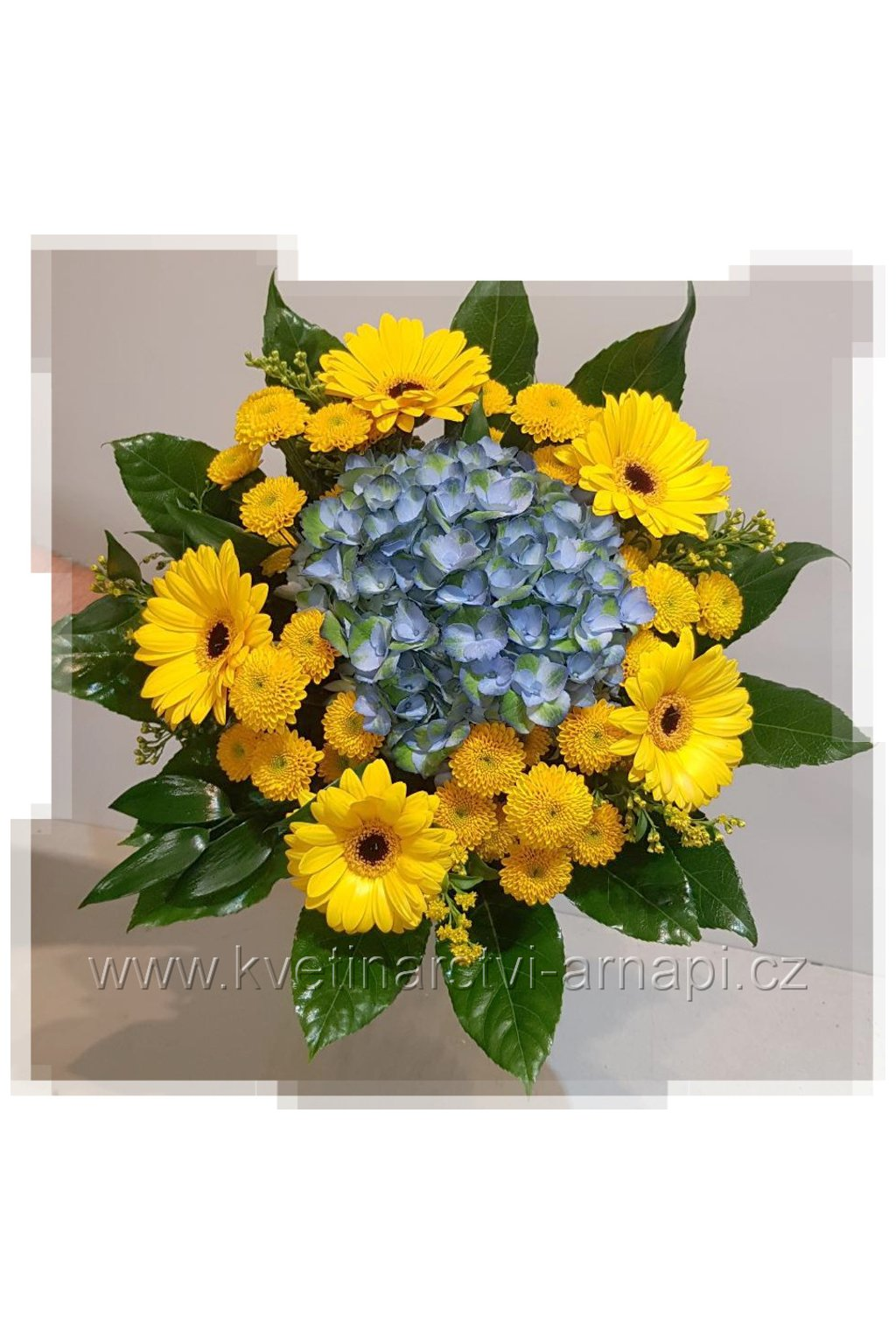 darkova kytice hortenzie gerbery eshop kvetinarstvi arnapi