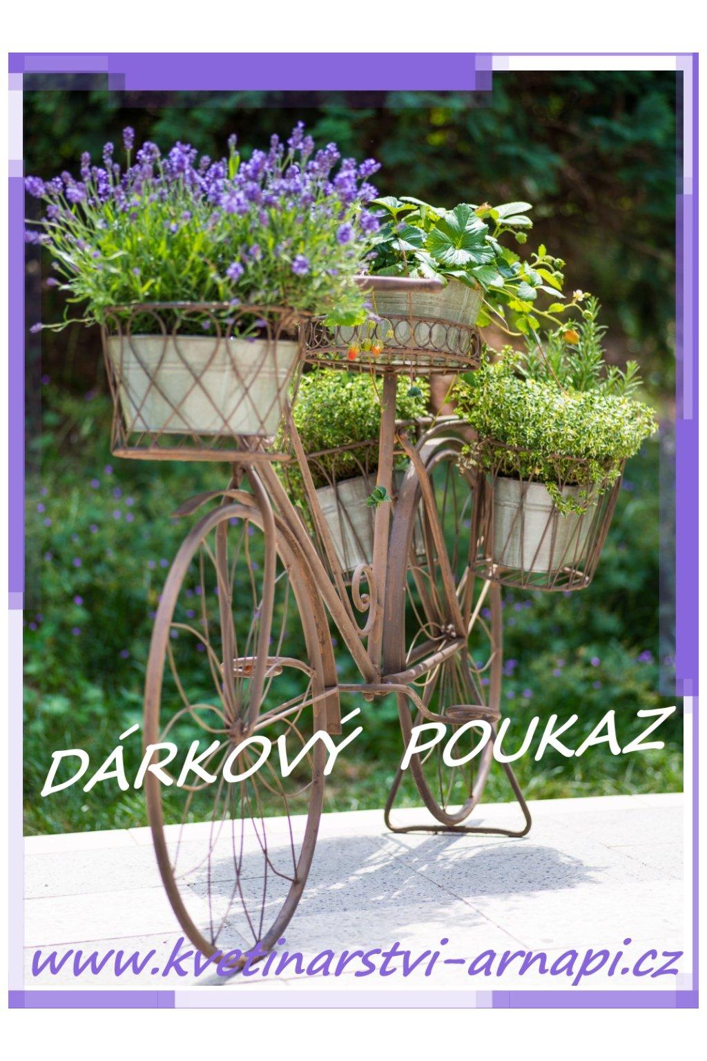 darkovy poukaz kvetinarstvi arnapi praha