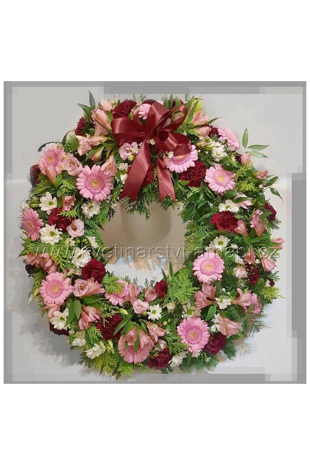 smutecni venec kytice eshop rozvoz kvetinarstvi arnapi