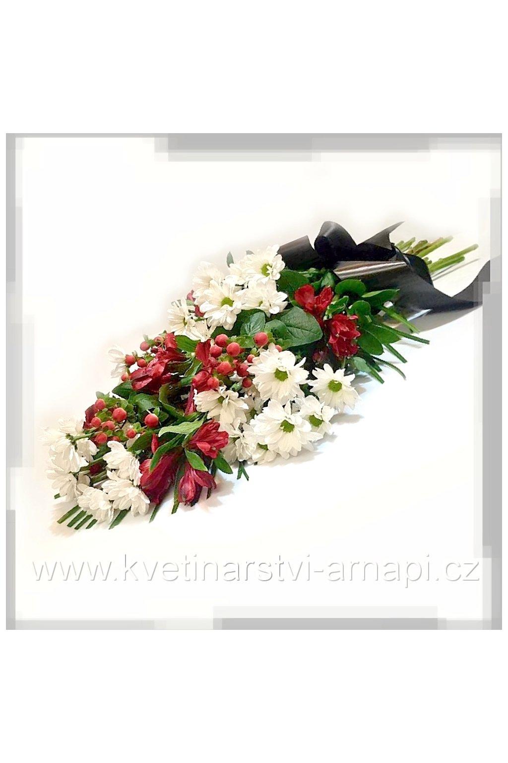 smutecni kytice stuhy rozvoz kvetinarstvi arnapi