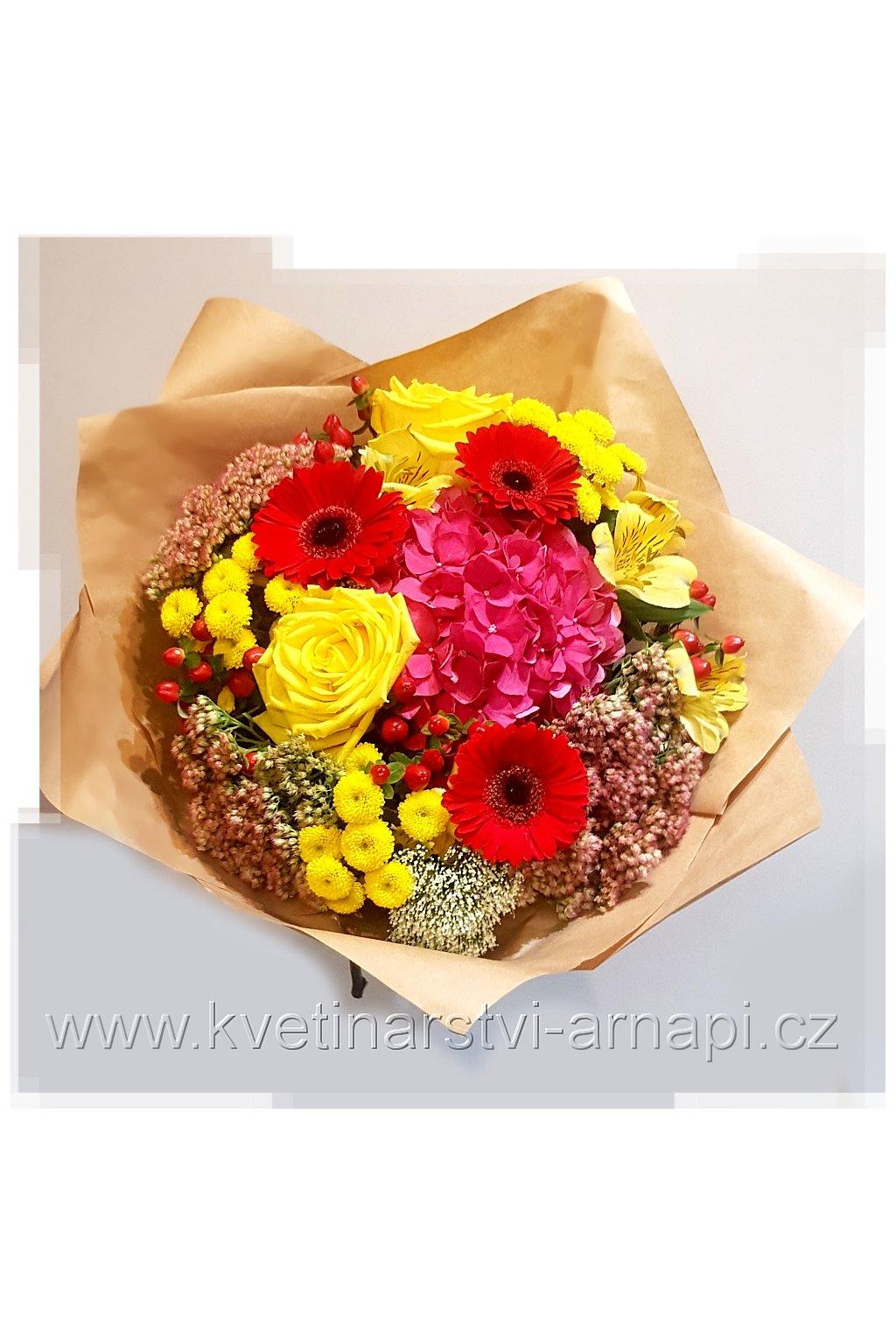 darkova kytice kvetinarstvi arnapi rozvoz eshop gerbera 2