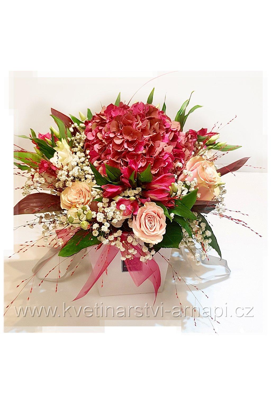 darkova kytice kvetinarstvi arnapi rozvoz eshop ruze hortenzie 1