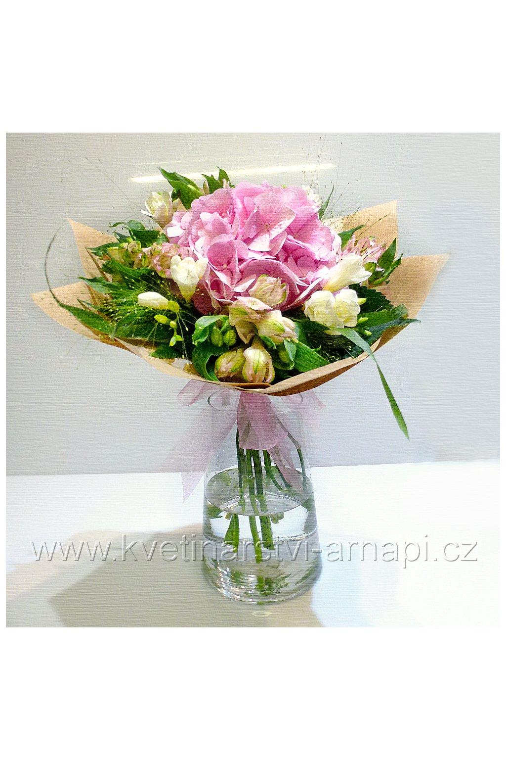 kytice darkova hortenzie eshop kvetinarstvi arnapi