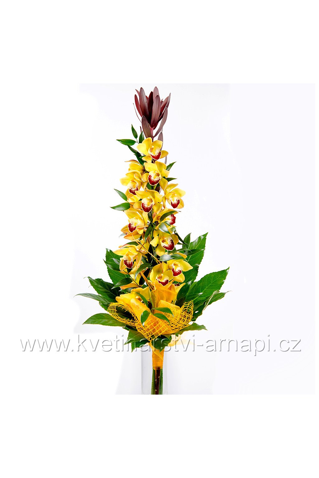 darkova kytice orchidej on line kvetiny kvetinarstvi arnapi