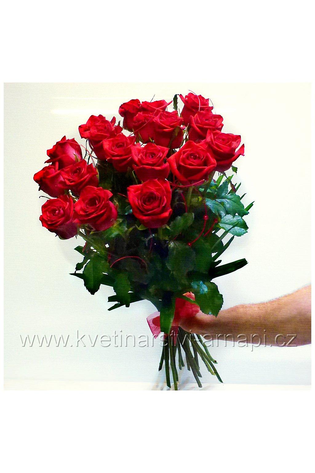 kytice ruzi darkova prodej online kvetinarstvi arnapi