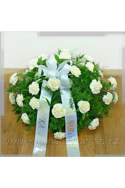 smutecni kytice vypichovana karafiaty kvetinarstvi arnapi