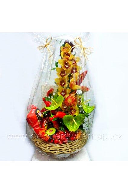 darkovy kos a kvetiny na navstevu kvetinarstvi arnapi