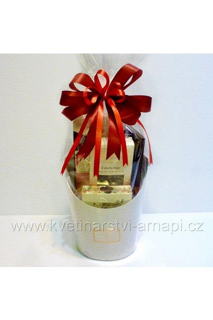 cokolady darkove balicky kose bonbony kytice kvetinarstvi arnapi