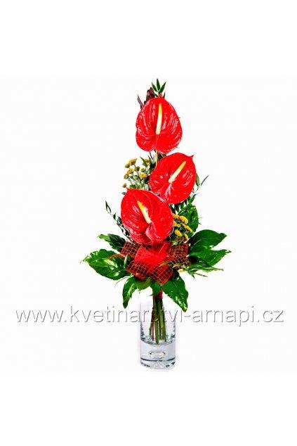 darkova kytice anthuria kvetinarstvi arnapi