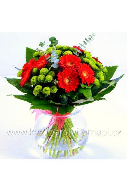 darkova kytice gerbery santini kvetinarstvi arnapi