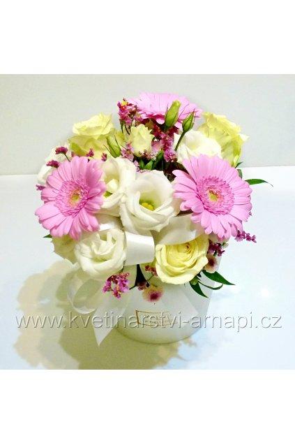 flowerbox ruzovy kvetinarstvi arnapi