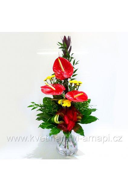 kytice darkova kvetinarstvi arnapi