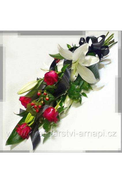 smutecni kytice s ruzi eshop kvetinarstvi arnapi