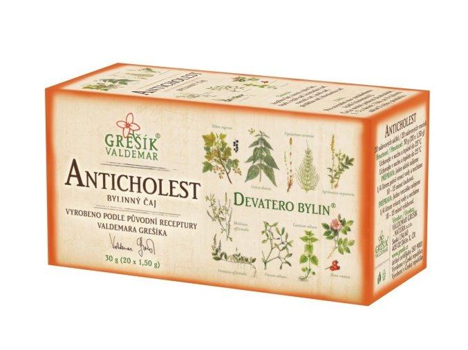 Anticholest 20 n.s. DB porcovaný