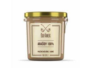 Arašídové máslo jemné (pražené) 330g