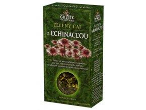 Zelený čaj s echinaceou 70g krab.