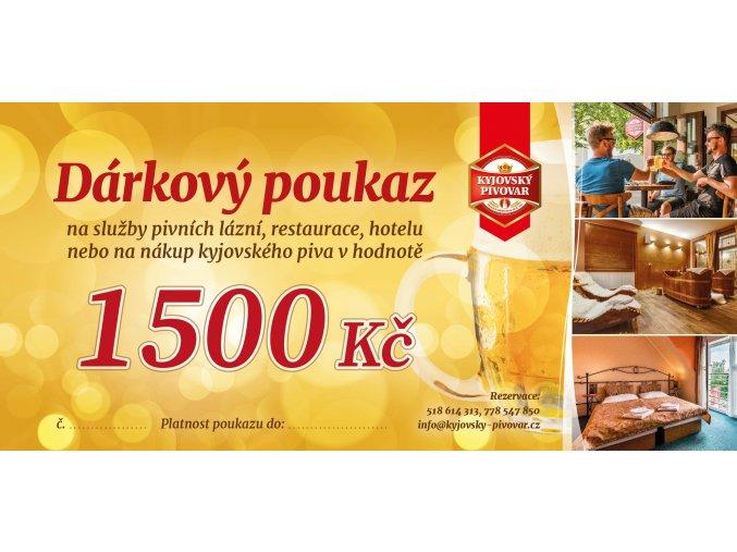 DÁRKOVÝ POUKAZ pivní balíček, hodnota 3490 Kč