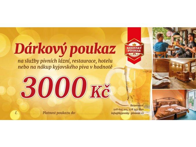 3051 20 Dárkový poukaz Pivovar Machalínek 01