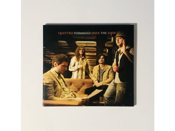 CD - Quattro Formaggi - Over The Edge