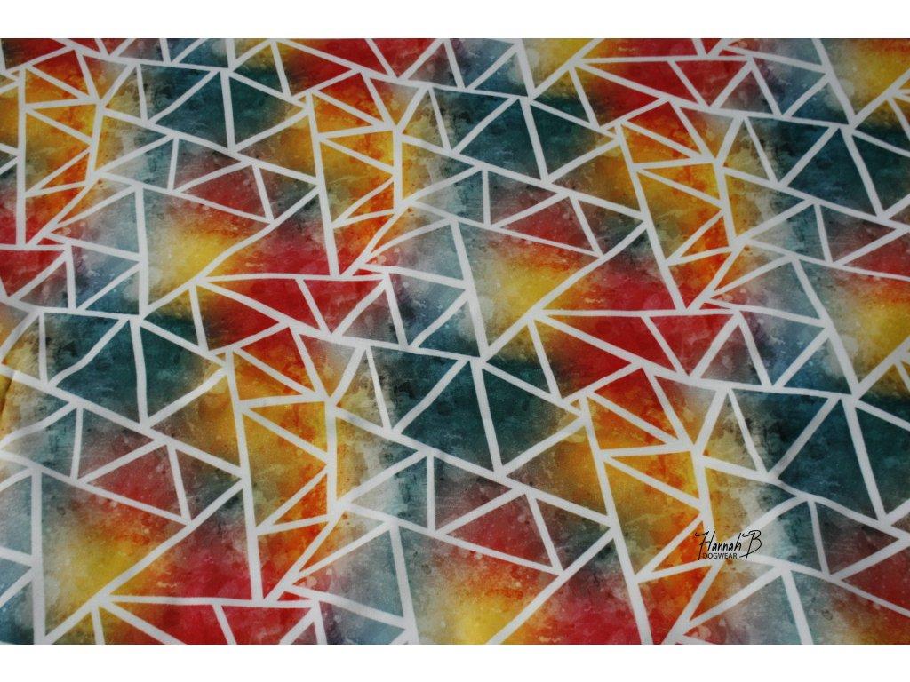 sladse trojuhelniky barev