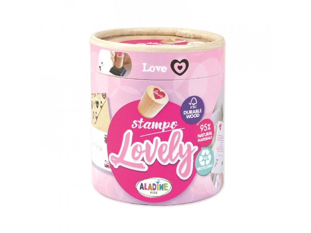 Stampo LOVELY, Love
