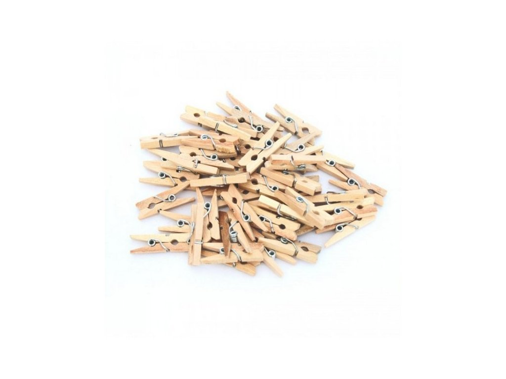 Dřevěné kolíčky 30mm