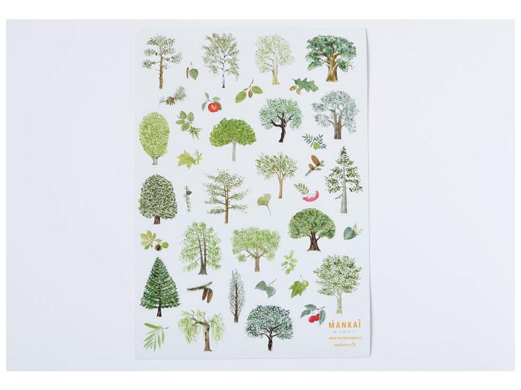 nalepky nase stromy