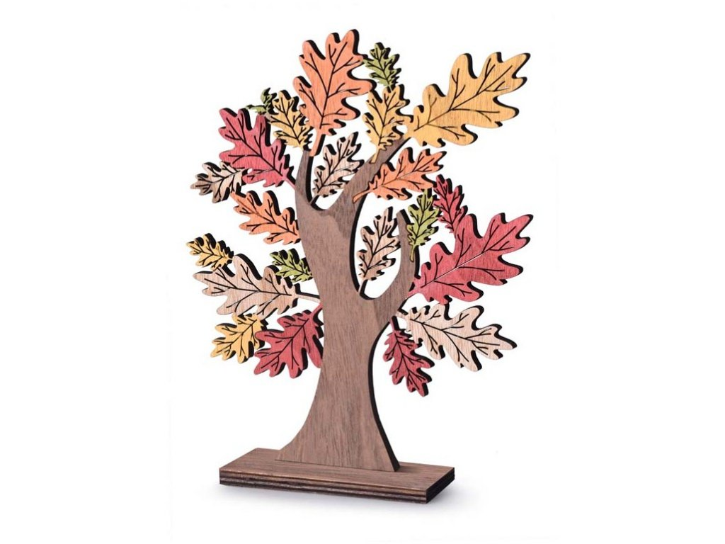 Podzimní strom, 185x230mm